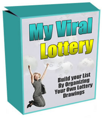 Product picture My Viral Lottery ! Run Your Own Lottery Website.