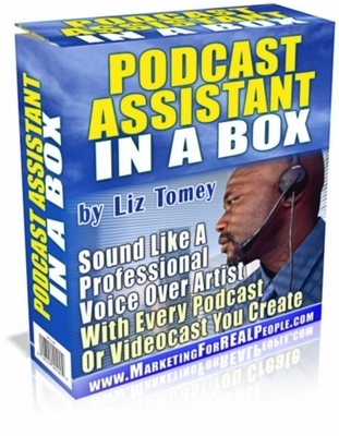 Product picture Podcast Assistant In A Box (MRR)