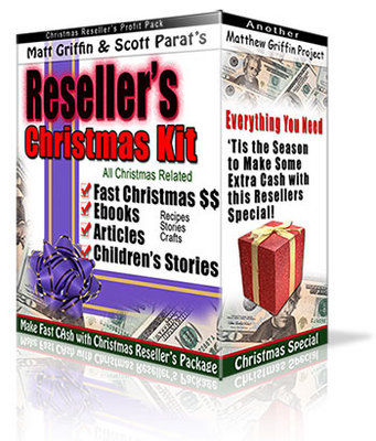 Product picture Christmas Reseller Kit ( Ebooks)