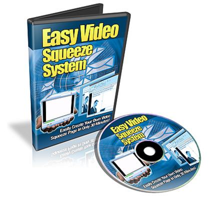 Product picture Easy Video Squeeze System Videos (MRR)