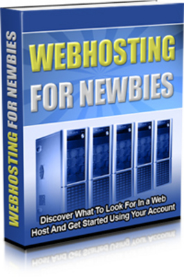 Product picture Webhosting For Newbies ( Resale Rights Included )