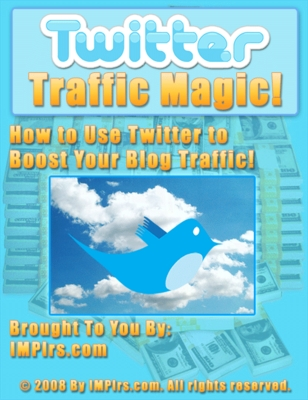 Product picture Twitter Traffic Magic (PLR)