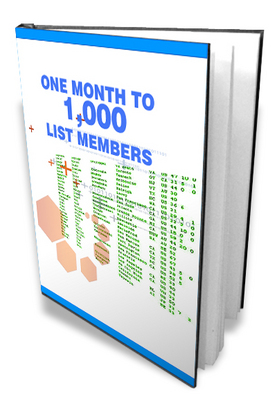 Product picture 1000 List Members In Less Than One Month (MRR)
