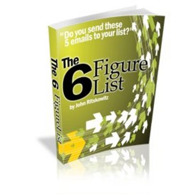 Product picture 6 Figure Email List (PLR)