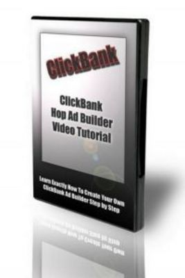 Product picture (10) Clickbank Hop Ad Builder Video Tutorials. (MRR)
